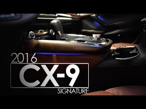 Mazda CX-9 Signature 2016 | Features | Interior | LED Lighting