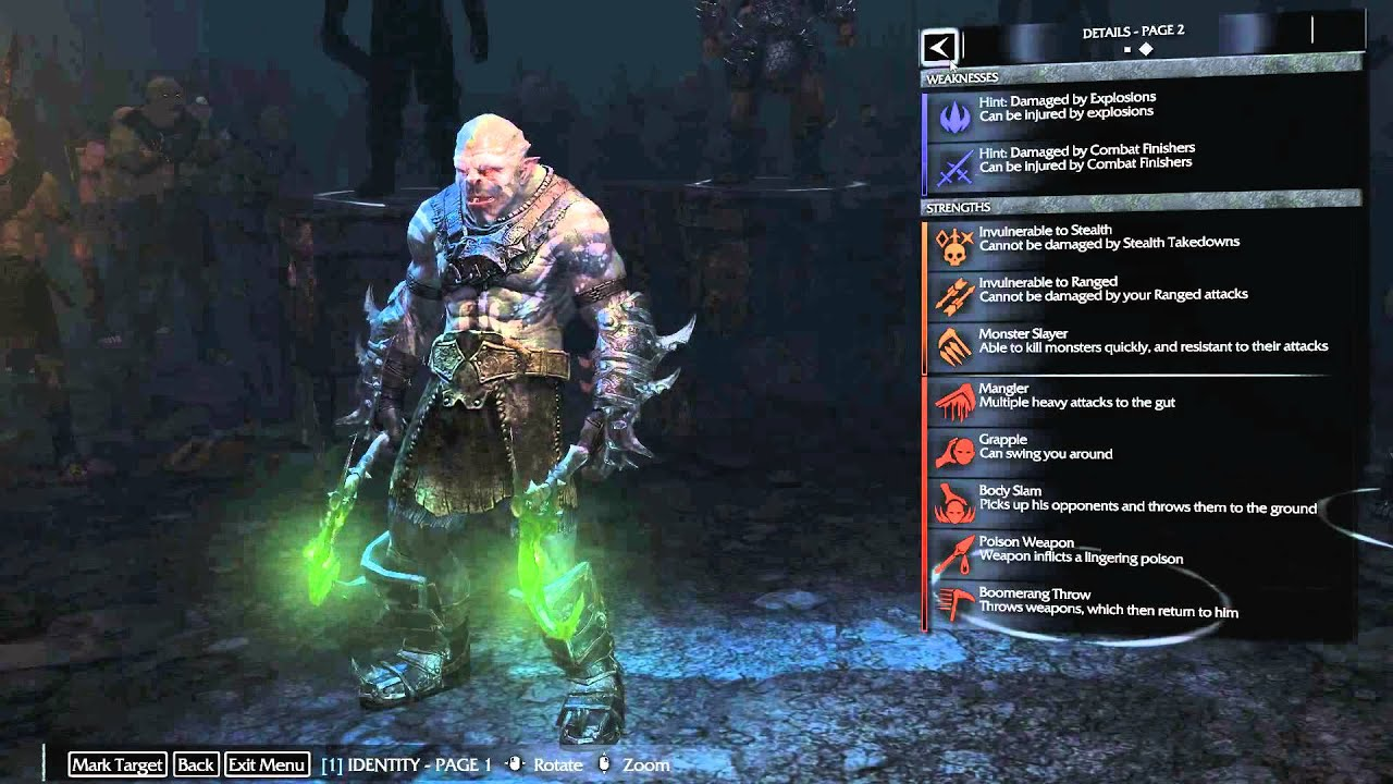 Shadow Of Mordor !!!!Second map Review! - YouTube
