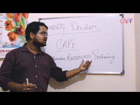 HR Training   Capability Finder