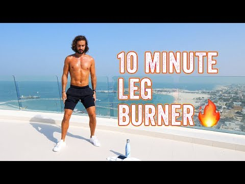 Savage 10 Minute Leg Burner | The Body Coach TV