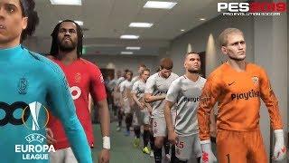 PES 2019 | UEFA Europa League | Sevilla vs Standard Lieja | Gameplay PS4