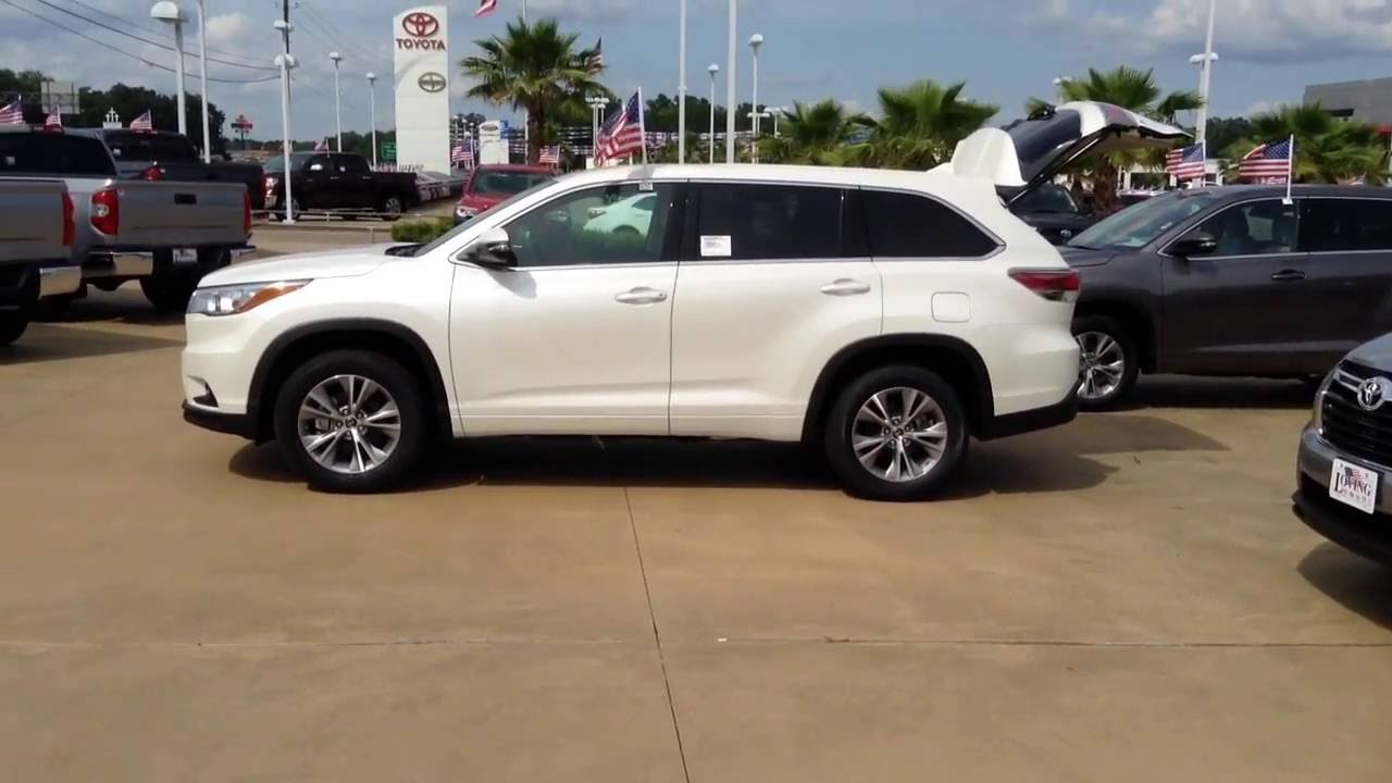 2016 Toyota Highlander Le Plus At Loving