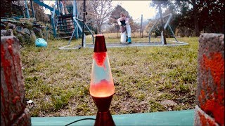 Giant slingshot VS Lava lamp l Out Of This World