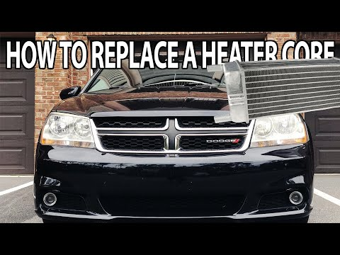 How To Replace A Heater Core- 2012 Dodge Avenger
