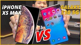 SPEEDTEST GALAXY S10 5G VS iPHONE XS MAX: APPLE ĐẠI BẠI!!!
