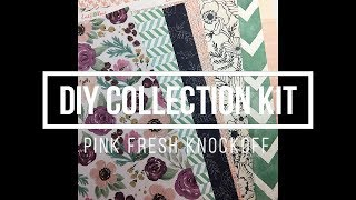 DIY Homemade Collection Kit // Pinkfresh Studio Knockoff