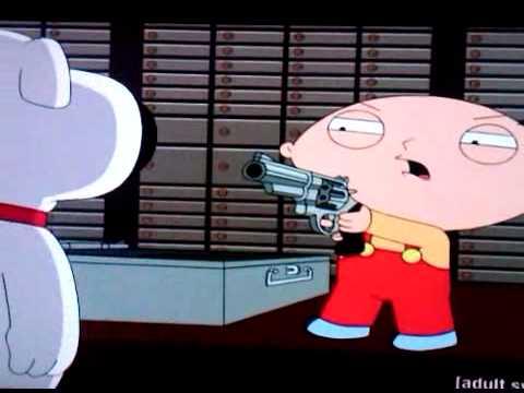 Gangsta Stewie With A Gun Stewie Shoot Like A Black Man Youtube stewie shoot like a black man youtube