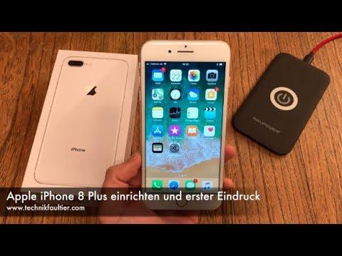 Apple iPhone 10 Plus einrichten und erster Eindruck