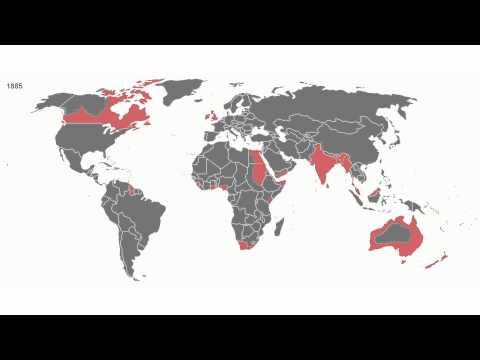 Territorial Evolution of the British Empire ✔