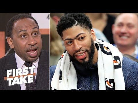 The way the Pelicans are handling Anthony Davis is 'a damn shame' – Stephen A. | First Take