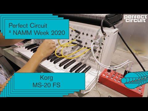 NAMM 2020: Korg MS-20 FS Sounds