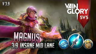 Hero Poke TerGG!!! Vainglory 5v5 (Ranked) Gameplay - Magnus Mid CP #EP19