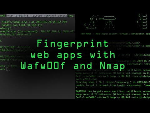 Fingerprint Web Application Firewalls with Nmap & Wafw00f [Tutorial] thumbnail