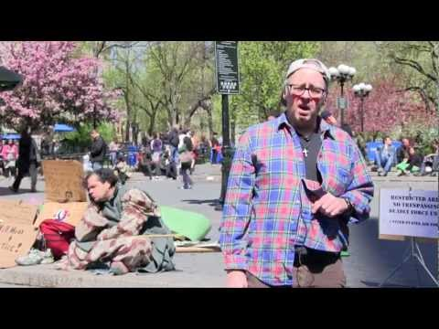 A Clown A Hammer A Bomb and God by Dan Kinch April 6 2012 Union Square NY