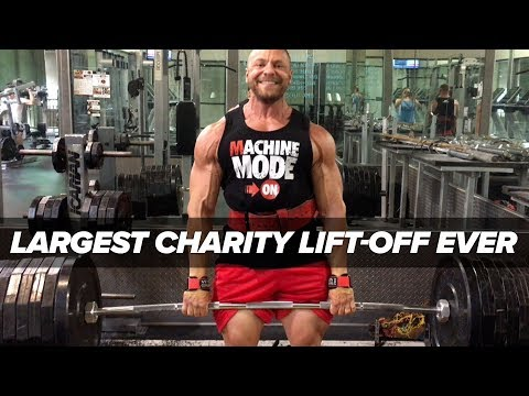 "Largest Charity Lift-Off Ever - ""Fake Weights"" Brad Castleberry Follow-Up"