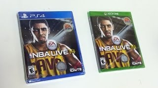 NBA Live 14 (PlayStation 4/Xbox One) Unboxing