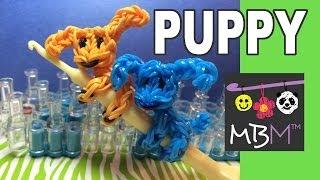 Rainbow Loom Pencil Hugger: Puppy Dog Climber Charm
