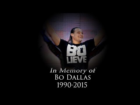 R I P Bo Dallas, 1990-2015 :(