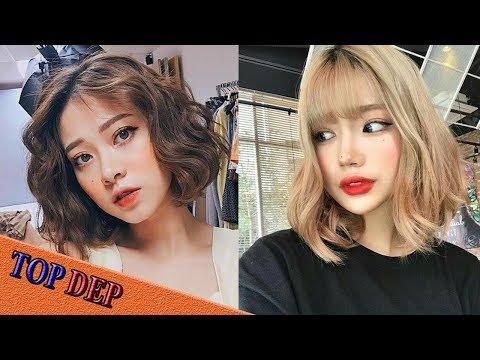 Các kiểu tóc ngắn đẹp, tóc ngắn ngang vai trẻ trung Hàn Quốc
