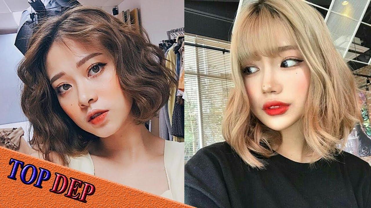 Các kiểu tóc ngắn đẹp, tóc ngắn ngang vai trẻ trung Hàn Quốc | Tổng hợp kiến thức về tóc đẹp mới nhất
