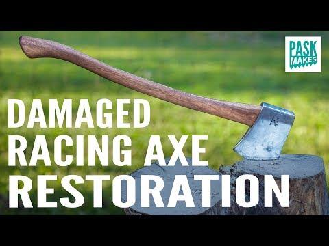 Damaged Racing Axe Restoration