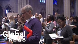 Martin Luther King Jr. honoured at National Cathedral in Washington, DC