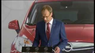 El Rey visita la planta de producción de General Motors España en Figueruelas (Zaragoza)