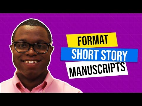 How To Format Short Stories For Submission