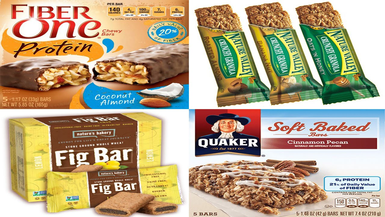 Gentil Top 5 Healthy Snack Bars Choices For Diabetics