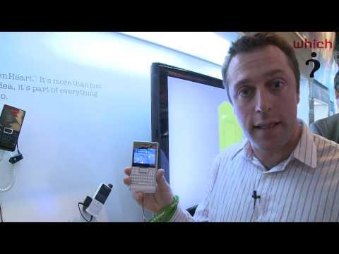 Which?: Sony Ericsson Aspen Greenheart smartphone