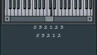 How to play Morning Song Theme on Piano - Music By Numbers