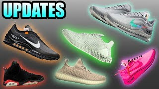 Nike X Off White AIR MAX 97 RELEASE DATE | Yeezy 350 V3 | FUTURECRAFT 4D Release | Sneaker Updates 8
