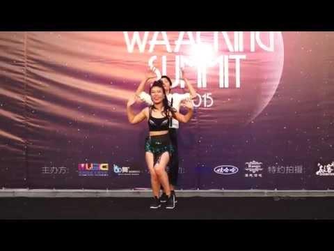 Queen Tuts Guest Performance|Waacking Summit 2015 Xuzhou China