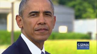 President Obama at Hiroshima Peace Memorial - FULL REMARKS (C-SPAN)