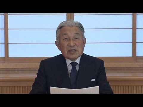Japan's Emperor Doubts His Ability to Carry Out Duties