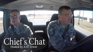 Ellsworth AFB Chief's Chat - Chief Miller