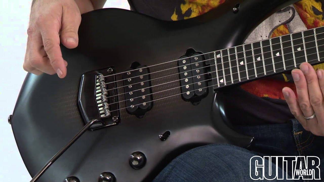 john petrucci signature guitar ernie ball music man majesty