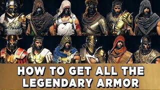 Assassin's Creed Odyssey All Legendary Armor Locations - Where to Find All Legendary Armor