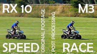 RX10 M3 HIGH SPEED RACE quality priority vs. shoot time priority comparison SONY Point & Shoot