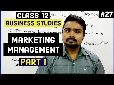 #27, Marketing management: Introduction and method(Class 12