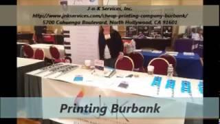 j n k printing company service in burbank
