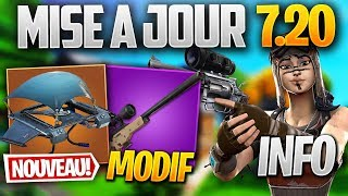 UPDATE 7.20: SNIPER MODIF, REDÉPLOIEMENT - MORE on FORTNITE! (Fortnite Patch Note 7.20)
