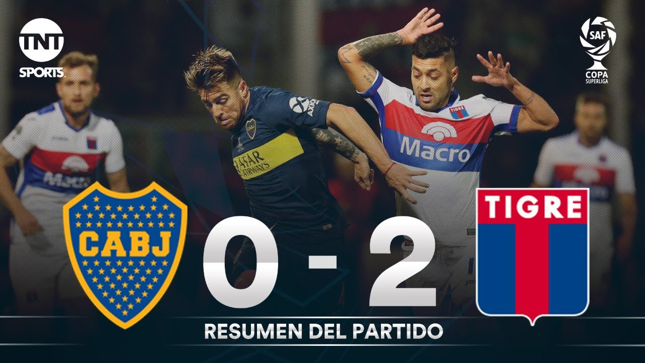 Resumen de Boca Juniors vs Tigre (0-2) | Final - Copa Superliga