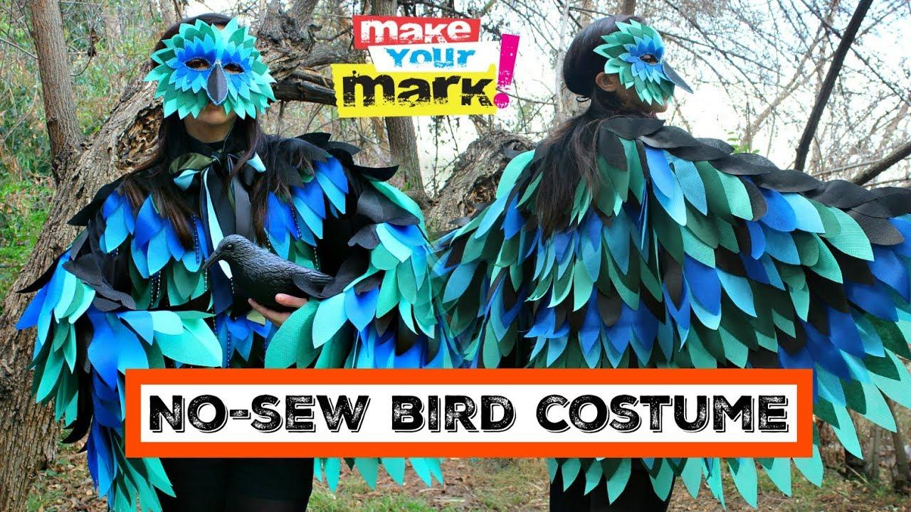 Halloween bird costume youtube halloween bird costume solutioingenieria Image collections