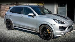 Porsche Cayenne S Diesel Chiptuning Einbau und Leistungsmessung