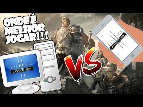 Lineage 2 Revolution: Onde é Melhor Jogar PC ou Celular? Emulador X Mobile - Omega Play