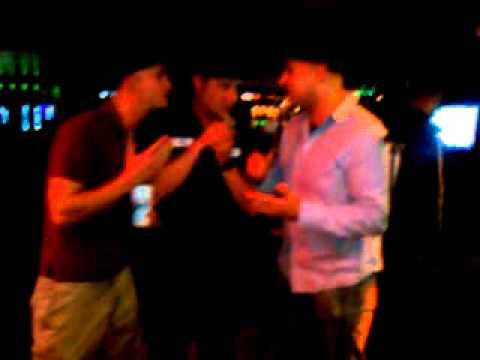 IPC class karaoke. Big Sal, Keller, Luke.