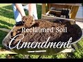 How to Amend Reclaimed Spent Container Soil for Reuse