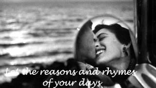 Alison Moyet-WHAT ARE YOU DOING THE REST OF YOUR LIFE-Lyrics
