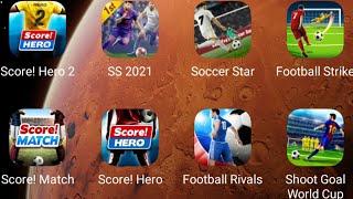 ⚽Score Hero 2,Soccer Star 21,Soccer Superstar,Football Strike,Football Rivals,Score Match,Score Hero screenshot 5